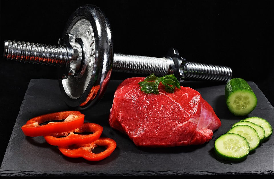 Training during ketosis with the right food and weight training.